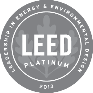 Derby Leed Platinum 2013 sertifikaatti